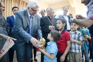 Szef MSZ z wizytą w Jordanii