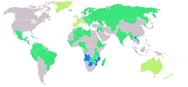 Дзяржавы, якія прынялі ўдзел у Летніх Алімпійскіх гульнях у СССР 1980 г.