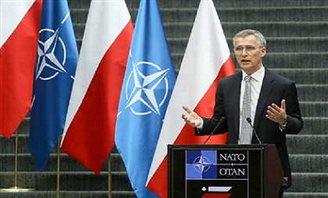 NATO musi reagować - szef Sojuszu w Polsce