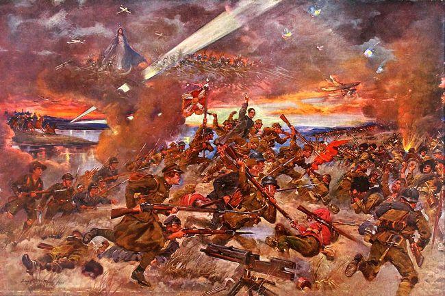 """Ежи Коссак """"Чудо на Висле"""" (Варшавская битва 1920 г.)"""