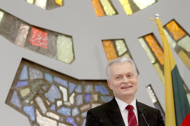 Новоизбранный президент Литвы Гитанас Науседа