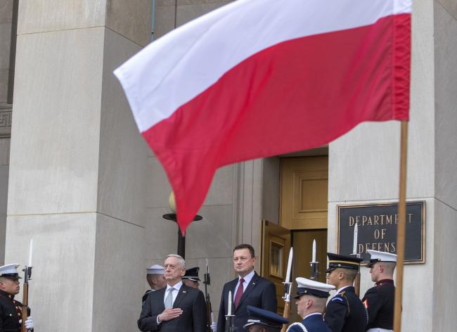 Міністри оборони США Джеймс Меттіс і Польщі Маріуш Блащак