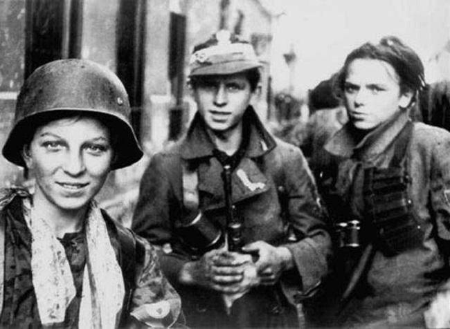 Бійці АК, учасники Варшавського повстання