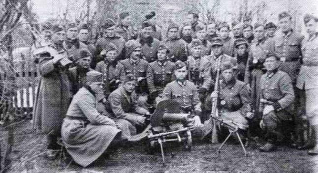 Солдати Українського легіону самооборони на Грубешівщині