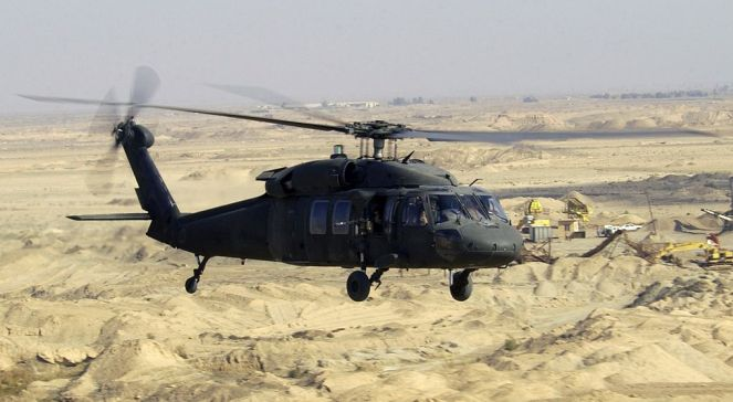 """Die """"Black Hawks"""" sind der Standardtransporthubschrauber des US-Militärs."""