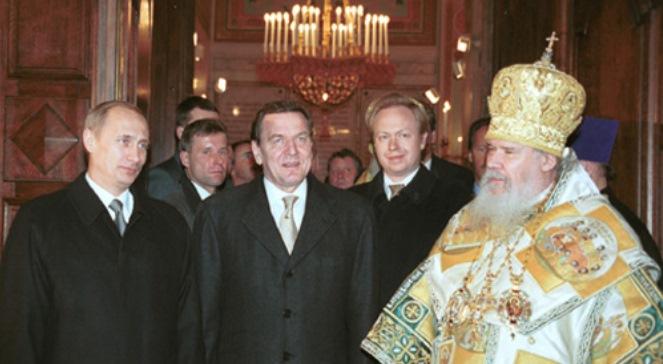 Путін і Шредер у 2001 році