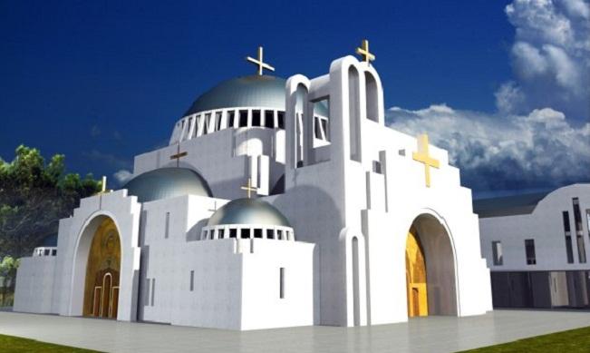 Проект храма. Фото предоставила пресс-служба
