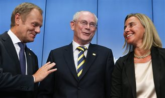 World leaders welcome Tusk as EU Council president