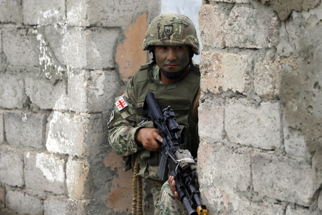 Грузинский солдат