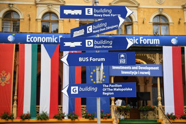 28-й Економічний форум у місті Криниця-Здруй