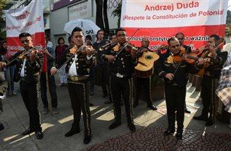Офіційне привітання президента Дуди в Мексиці