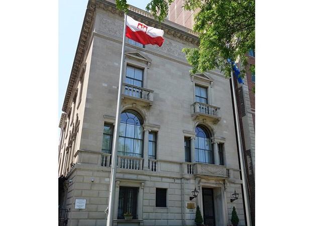 Polish Consulate General in Chicago, Illinois, USA. Photo: chicago.msz.gov.pl