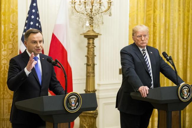 Президенти Анджей Дуда і Дональд Трамп