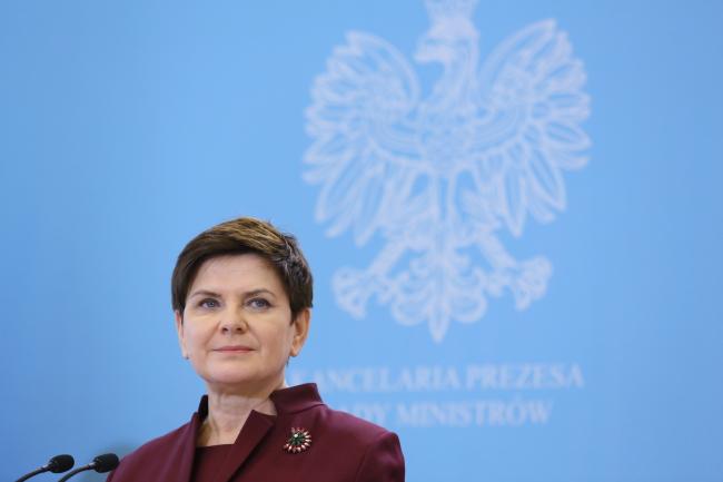 Глава польского правительства Беата Шидло.