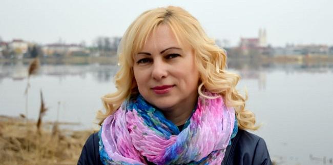 Журналістка з Глыбокага Тацьцяна Смоткіна