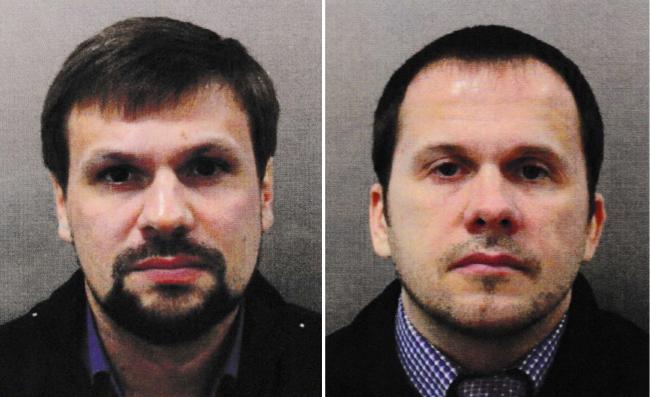 Двоє головних підозрюваних у нападі на Скрипалів у Солсбері - Руслан Боширов ( справжнє ім'я і прізвище Анатолій Чєпіґа) та Алєксандр Пєтров (Алєксандр Мішкін)