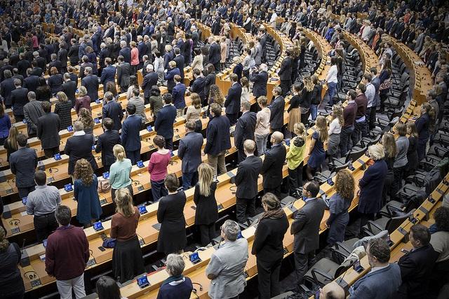 The European Parliament. Photo: Flickr.com/European Parliament