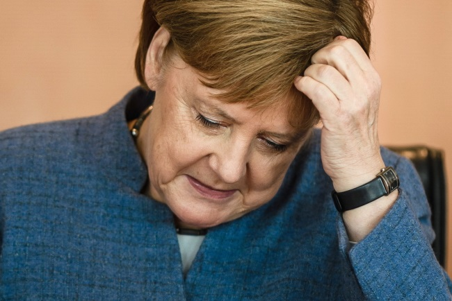 German Chancellor Angela Merkel. Photo: EPA/CLEMENS BILAN