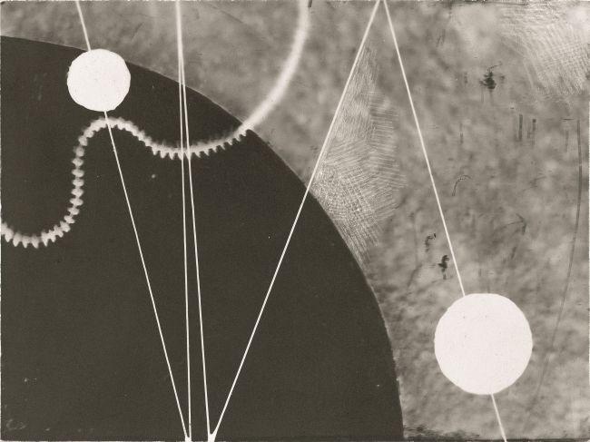 Кароль Хиллер, Гелиографическая композиция (приблизительно1928 г.). Из коллекции Музея искусства в Лодзи.