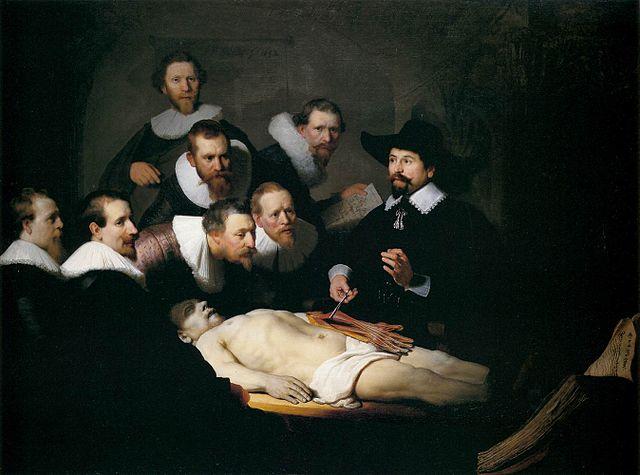 Рембрандт, Урок анатомії доктора Тюльпа (1632)