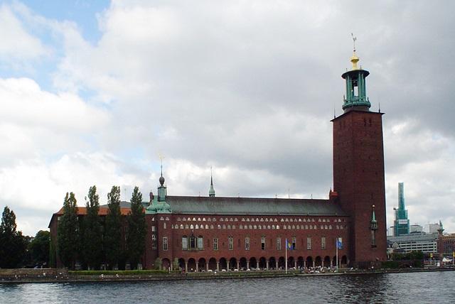 Ratusz w Sztokholmie