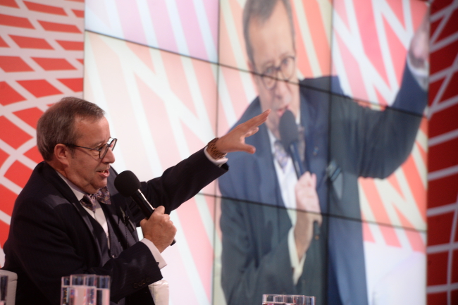 Toomas Hendrik Ilves. Photo: PAP/Jacek Turczyk