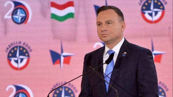 Президент Польши Анджей Дуда в Праге