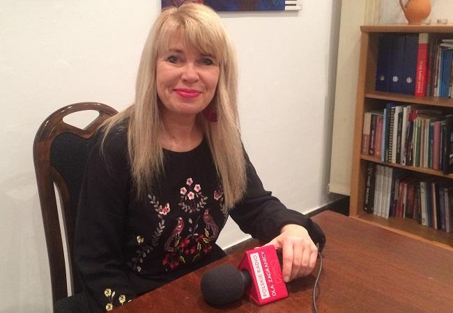 """Małgorzata Wojcieszyńska, redaktor naczelna """"Monitora Polonijnego"""""""