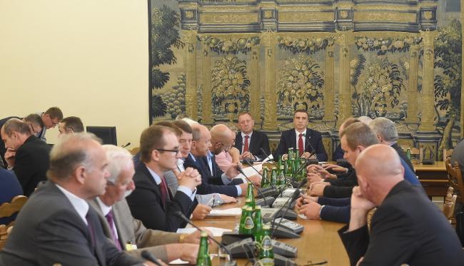 Засідання сеймової комісії сільського господарства