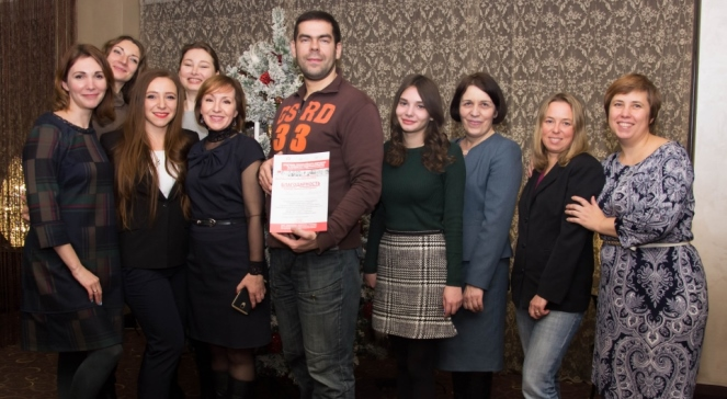 Учасники, викладачі та організатори проекту, реалізованого АДРА у Дніпрі