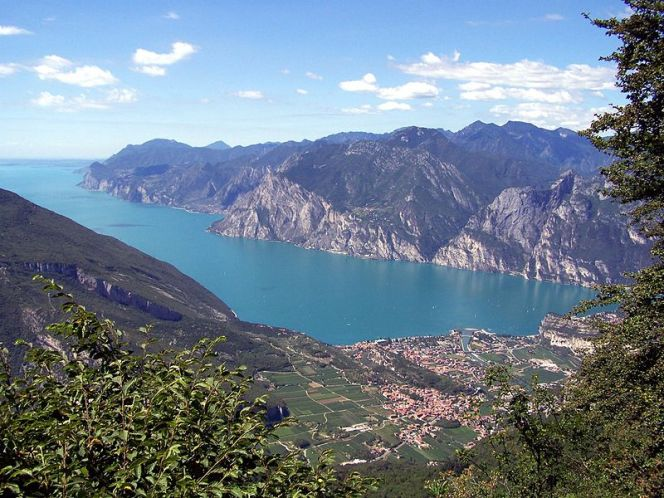 Озеро Ґарда в Італії