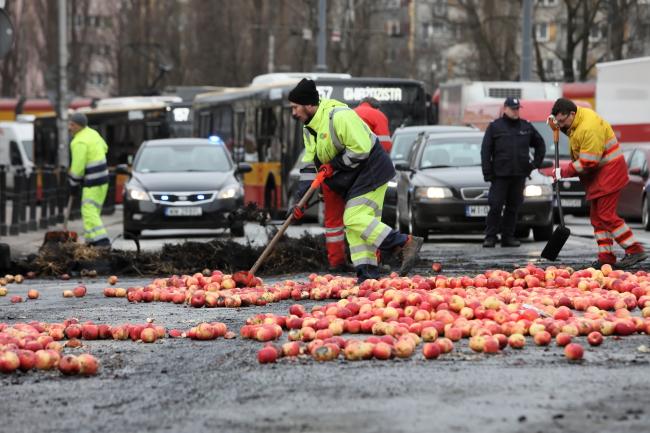 У Варшаві протестували фермери
