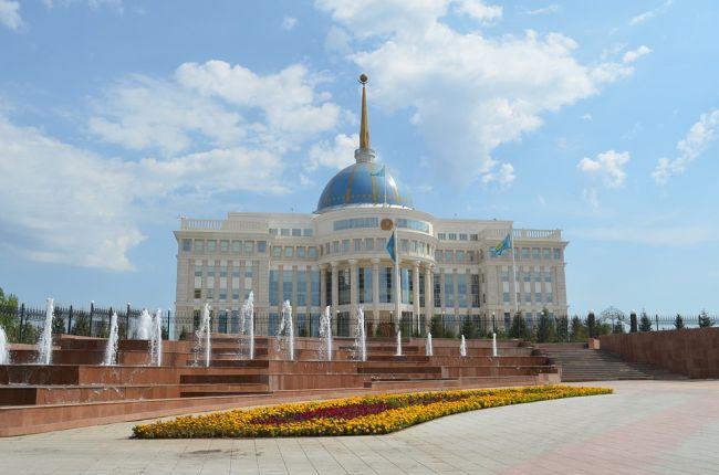 """""""Акорда"""" – резиденция Президента Республики Казахстан в Астане."""
