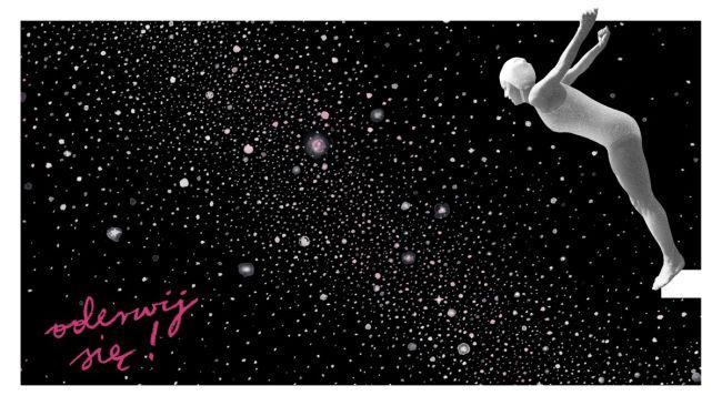 Один из плакатов 14-го фестиваля Millennium Docs Against Gravity.