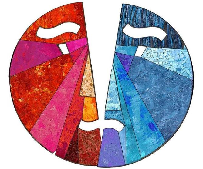 Емблема Міжнародного фестивалю українського театру «Схід-Захід»