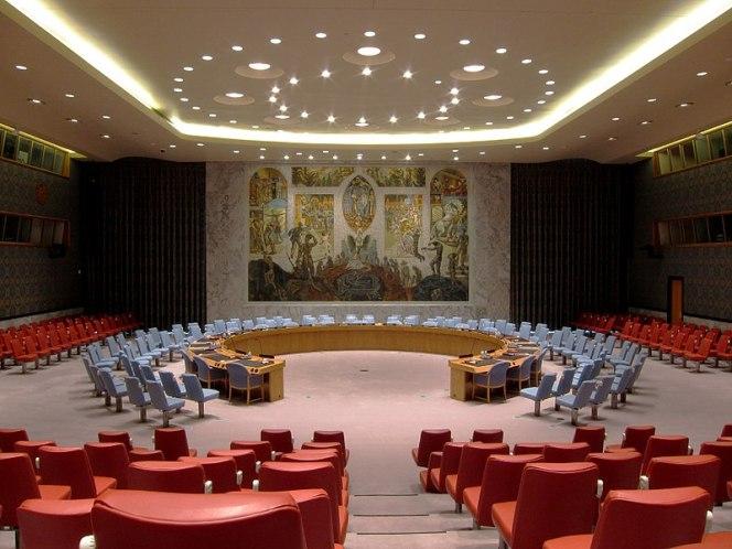 Зал засідань Ради Безпеки ООН