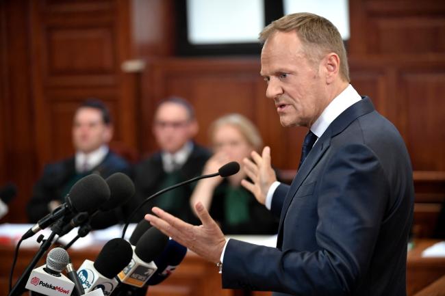 Екс-прем'єр Польщі та голова Європейської ради Дональд Туск