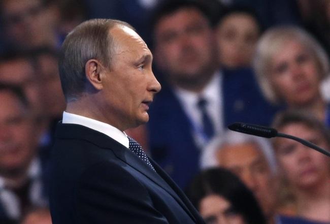 Russian President Vladimir Putin. Photo: EPA/MAXIM SHIPENKOV