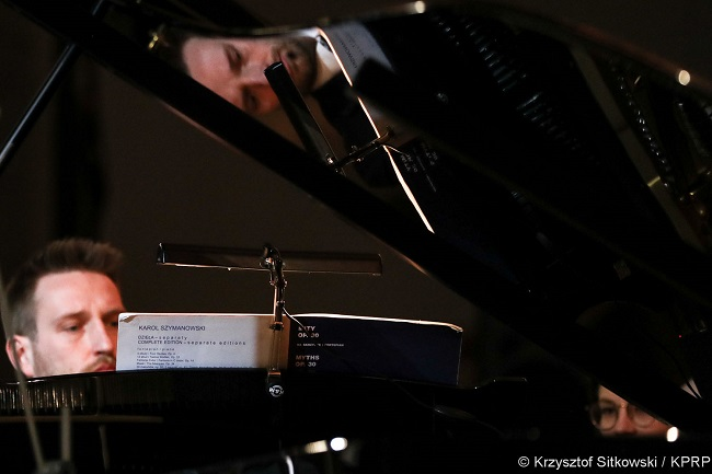 The concert on Tuesday at the presidential palace in Warsaw. Photo: KPRP