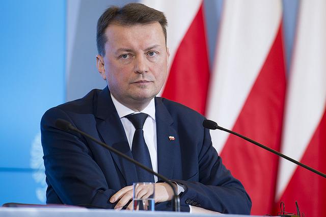 Министр обороны Польши Мариуш Блащак.