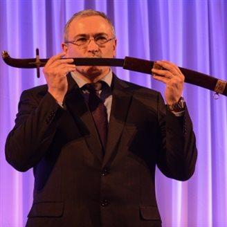 Khodorkovsky given