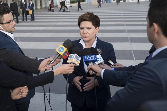 Polish Prime Minister Beata Szydło. Photo: KPRM