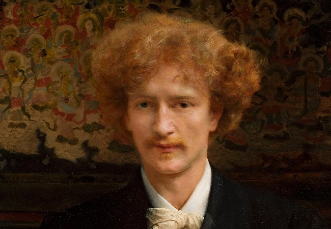 Portrait of Ignacy Jan Paderewski by Lawrence Alma-Tadema, 1891. Public domain, via Wikimedia Commons