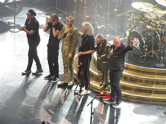 Queen to play Poland during European Tour