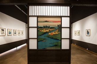 Japanese woodblock prints on show in Warsaw