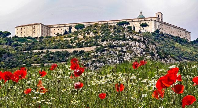 Monte Cassino. Zdjęcie ilustracyjne