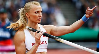 Pole vaulter Anna Rogowska retires