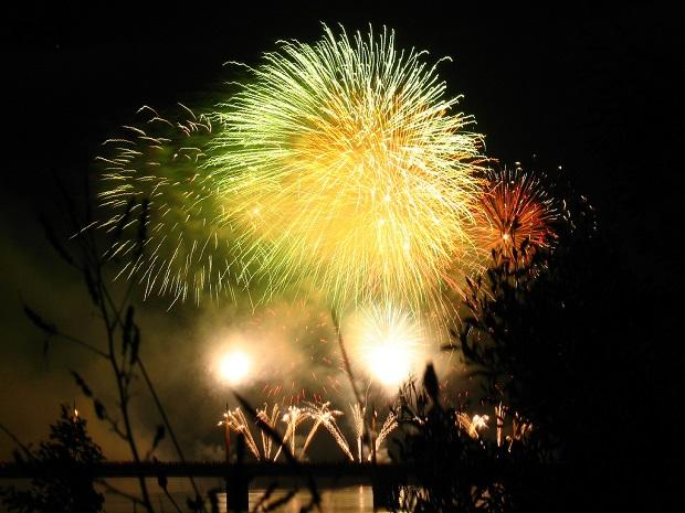 Noworoczne fajerwerki