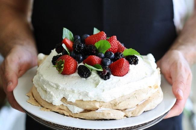 Торт-безэ «Паўлава»
