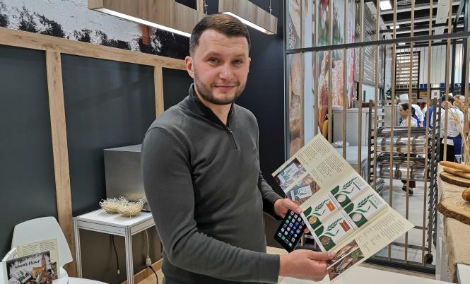 Віктор Теремко на берлінському стенді Публічного акціонерного товариства «Аграрний фонд»